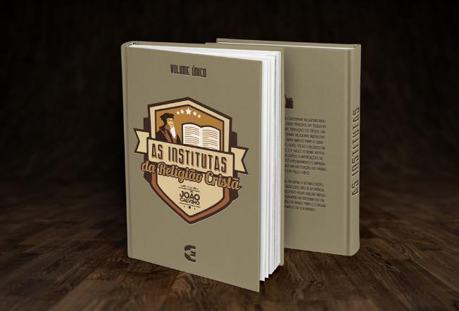 Publicitário cristão cria novas capas para as Institutas de Calvino